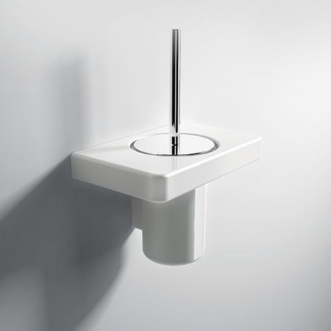 Flat Toilet Brush Holder - Parisi